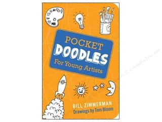 Gibbs Smith Publishing Activity Books / Puzzle Books: Gibbs-Smith Pocketdoodles For Young Artists Book
