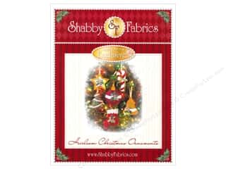 Felt Home Decor: Shabby Fabrics Heirloom Christmas Ornaments Pattern