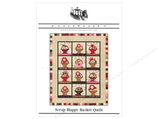 Lakehouse Patterns: Lakehouse Scrap Happy Basket Quilt Pattern
