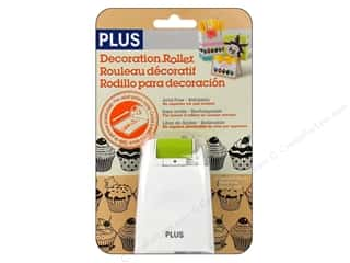 Plus Black: Plus Decoration Roller Cupcakes