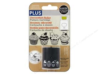 Plus inches: Plus Decoration Roller Refill Cupcakes
