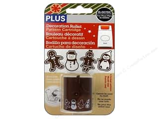 Plus Christmas: Plus Decoration Roller Refill Ginger Bread