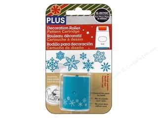 Plus inches: Plus Decoration Roller Refill Snowflakes
