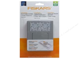 Winter Wonderland Punches: Fiskars Punch AdvantEdge Border Winter Frost