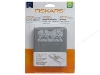 Punches Fiskars Punch: Fiskars Punch AdvantEdge Border Butterfly Lace