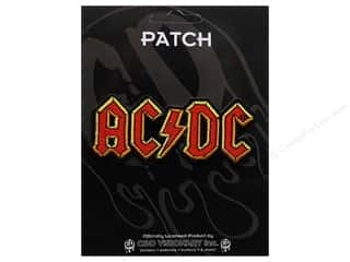 Clearance C&D Visionary Patches: C&D Visionary Applique ACDC Logo