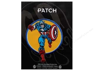 C&D Visionary Patch Captain America Run