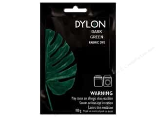 Clearance Dylon Machine Fabric Dye: Dylon Machine Fabric Dye 100gr Dark Green