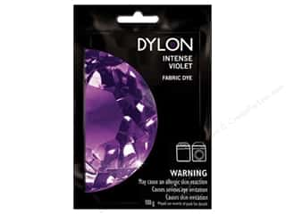 Clearance Dylon Machine Fabric Dye: Dylon Machine Fabric Dye 100gr Intense Violet