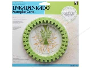 Inkadinkado Stamp Placement Tools: Inkadinkado Stamping Gear Circle Wheel