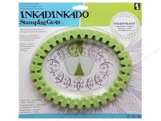 Inkadinkado Stamp Placement Tools: Inkadinkado Stamping Gear Oval Wheel