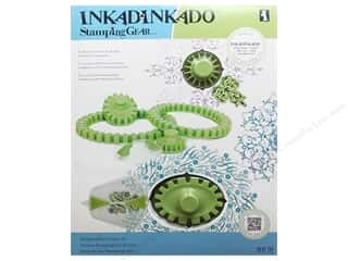 Inkadinkado Stamping Gear Set Deluxe Round/Oval