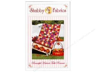 Suzn Quilts Patterns Table Runner & Kitchen Linens Patterns: Shabby Fabrics Bountiful Harvest Table Runner Pattern