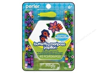 Beads Projects & Kits: Perler Fused Bead Kit Motionator Butterfly