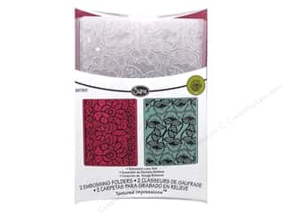 Sizzix Emboss Folder RBright TI Bohemian Lace