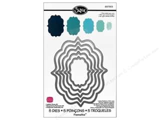 Sizzix Framelits Die Set 5 PK Labels Fancy #4