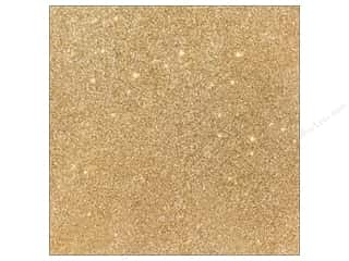 Stock Up Sale Sulyn Glitter: American Crafts 12 x 12 in. Cardstock Duotone Glitter Oatmeal (15 piece)