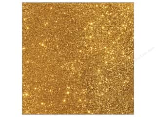 Stock Up Sale Sulyn Glitter: American Crafts 12 x 12 in. Cardstock Duotone Glitter Gold (15 piece)