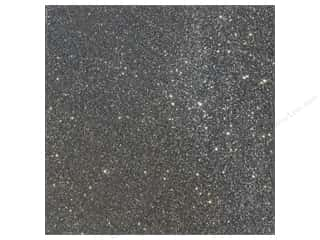 American Crafts 12 x 12 in. Cardstock Duotone Glitter Charcoal