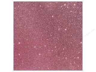 Castilleja Cotton: American Crafts 12 x 12 in. Cardstock Duotone Glitter Cotton Candy (15 piece)