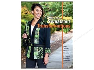 Sewing Construction C & T Publishing: C&T Publishing Sweatshirt Transformations Book by Londa Rohlfing
