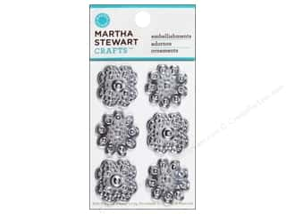 Martha Stewart Sticker Rhinestone Flower Heirloom