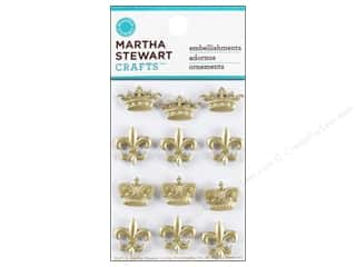 Paper Accents Blue: Martha Stewart Sticker Heirloom Metal Royal Accent