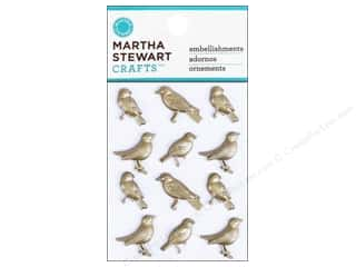 Martha Stewart Sticker Heirloom Metal Bird