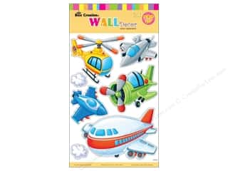 "Clearance Best Creation Wall Decor Sticker: Best Creation Wall Decor Sticker 16"" Aircraft"