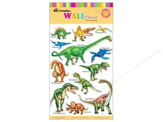 "Clearance Best Creation Wall Decor Sticker: Best Creation Wall Decor Sticker 16"" Dinosaurs"