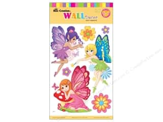 Angels/Cherubs/Fairies Craft & Hobbies: Best Creation Wall Decor Stickers Pop-Up Garden Fairy