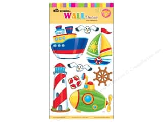 Quilled Creations Beach & Nautical: Best Creation Wall Decor Stickers Pop-Up Lighthouse, Submarine, Boat