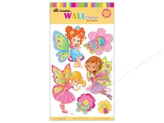 Angels/Cherubs/Fairies Craft & Hobbies: Best Creation Wall Decor Stickers Pop-Up Little Fairy