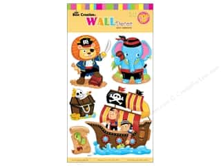 Clearance Best Creation Wall Decor Stickers: Best Creation Wall Decor Stickers Pop-Up Cartoon Animal Pirate