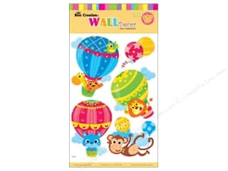 Best Creation All-American Crafts: Best Creation Wall Decor Stickers Pop-Up Hot Air Balloons