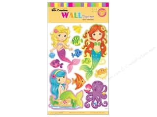sticker: Best Creation Wall Decor Stickers Pop-Up Mermaid