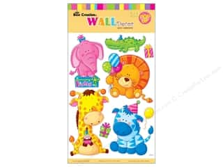 sticker: Best Creation Wall Decor Stickers Pop-Up Animal Birthday