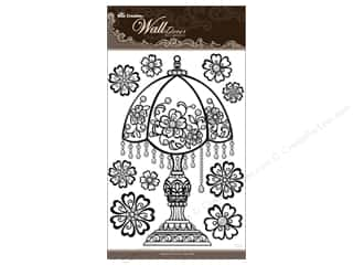 Clearance Best Creation Wall Decor Stickers: Best Creation Wall Decor Stickers 3D Black Crystal Lamp
