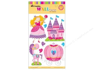 Clearance Best Creation Wall Decor Sticker: Best Creation Wall Decor Stickers 3D Princess