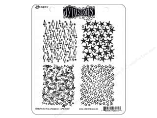 Ranger Stamp Dylusions Rubber Christmas Background