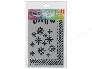 Ranger Dylusions Stencil 5x8 Let It Snow