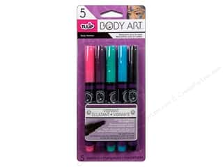 Weekly Specials Tulip Body Art Face & Body Paint: Tulip Body Art Markers Vibrant 5pc