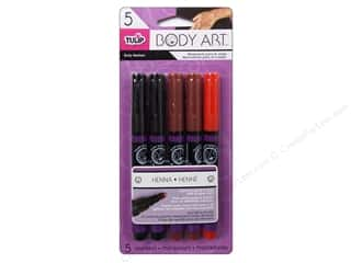 Tulip Body Art Markers Henna 5pc