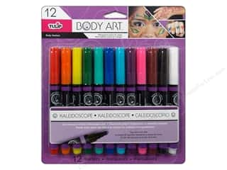 Tulip Body Art Markers Primary 12pc