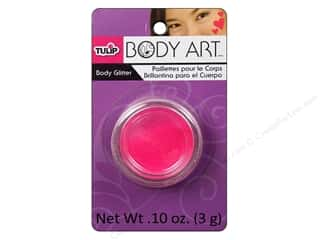 Tulip Body Art Body Glitter 0.10oz Pink