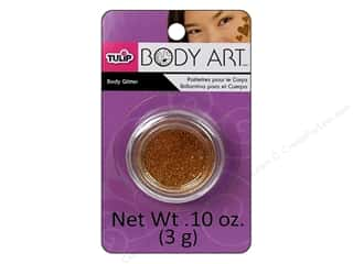 Tulip Body Art Body Glitter 0.10oz Gold