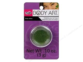 Tulip Clear: Tulip Body Art Body Glitter 0.10oz Lime