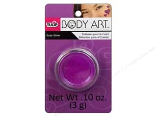 Tulip Body Art Body Glitter 0.10oz Purple