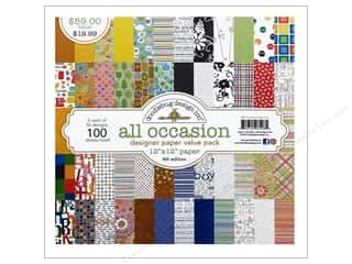 Doodlebug Paper Pack Value All Occasions