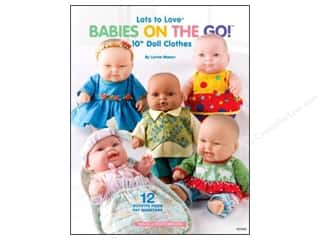 Doll Making Clearance Books: House of White Birches Babies On The Go Book
